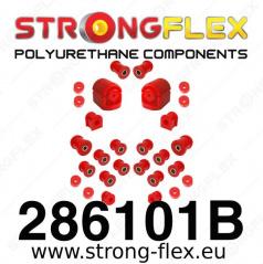 Nissan 100NX StrongFlex kompletní sestava silentbloků 22 ks