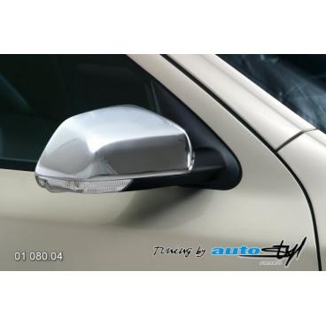 Kryt zpětného zrcátka - chrom Škoda Octavia II