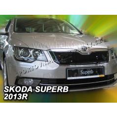 Zimní clona - kryt chladiče - Škoda Superb II 4/5 dveř, 2013-, po faceliftu