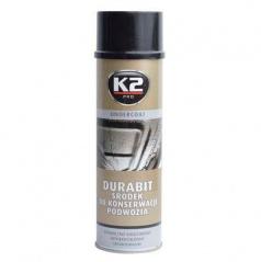 K2 UNDERCOAT 500 ml - ochranný nástřik na podvozek asfaltový
