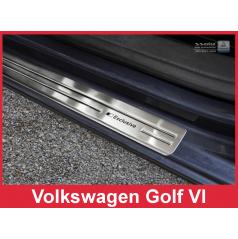 Nerez ochranné lišty prahu dveří 4ks Volkswagen Golf 6 2008-16