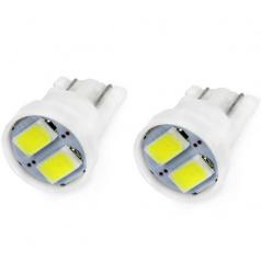 Žárovka LED 5730 T10 12V 5W bílá 2 ks