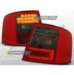 AUDI A6 (C5) AVANT 1997-04 ZADNÍ LED LAMPY RED SMOKE (LDAU40)