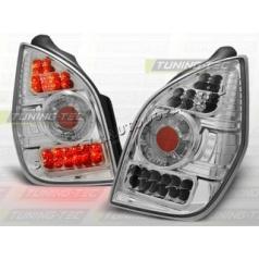 CITROEN C2 2003-10 ZADNÍ LED LAMPY CHROM (LDCI01)