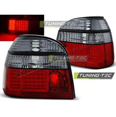 VW GOLF 3 09.91-08.97 ZADNÍ LED LAMPY RED SMOKE (LDVW50)
