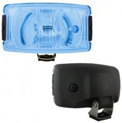 Přídavné dálkové světlo hranaté velké - blue
