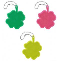 Přívěšek reflexní Čtyřlístek - různé barvy