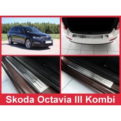 Sada nerez doplňků 5 ks Škoda OctaviaIII kombi