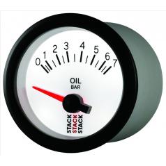 Stack elektronický budík tlak oleje 52 mm ST3251