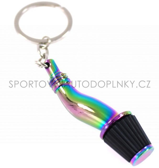 Kovový prívesok na kľúče športové sanie  11f848136ed