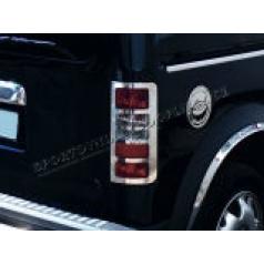 Ford Connect - NEREZ chrom kryty zadních světel OMSA