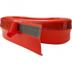 Univerzální spodní pružný  lip s podlepením červený