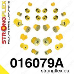 Alfa Romeo 147 StrongFlex Sport kompletní sestava silentbloků 24 ks