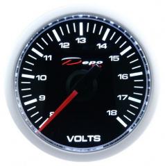 Přídavný budík Depo Racing Voltmeter 52 mm
