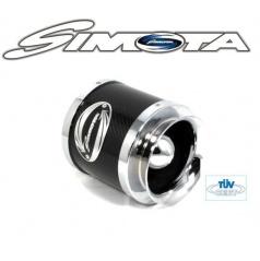 Sportovní vzduchový filtr SIMOTA s karbon štítem 60-76 mm