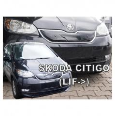 Zimní clona - kryt chladiče horní - Škoda Citigo, 2017- , po faceliftu