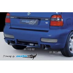 Škoda Felicia Facelift (od r.v. 98) Zadní nárazník - model 2003 (převlek)