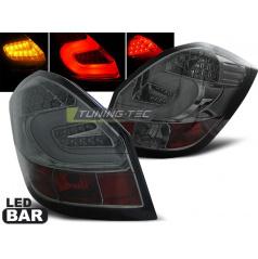 Škoda Fabia 2 2007-06.14 zadní lampy smoke LED BAR (LDSK08)