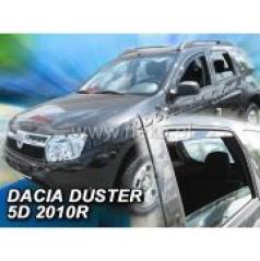Větrné clony - ofuky oken - Dacia Duster, 5 dveř., 2010- , přední + zadní