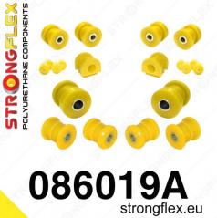 Honda Civic 1992-95 StrongFlex Sport sestava silentbloků jen pro přední nápravu 14 ks