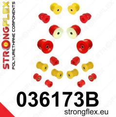 BMW řada 7 StrongFlex kompletní sestava silentbloků 14 ks
