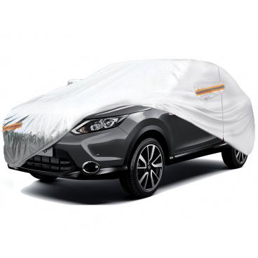 Nepromokavé autoplachty SUV, VAN aluminium LXL 510x185x150cm