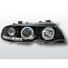 BMW E46 99-03 ANGEL EYES BLACK (LPBM49) - coupe / cabrio