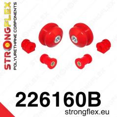 VW Polo III 2009+ StrongFlex sestava silentbloků jen pro přední nápravu 6 ks