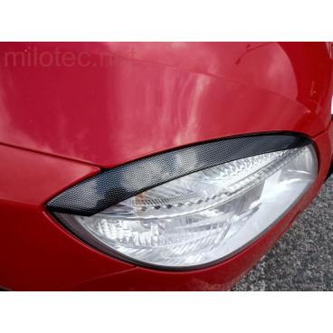 Kryty světlometů (mračítka), karbon design - Škoda Fabia II. Lim./Combi/Scout 2007-2010 - Škoda Roomster/Scout 2006-2010