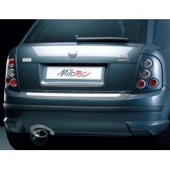 Rozšíření zadního nárazníku - stříbrné matné - Škoda Fabia I. Limousine 2000-2007