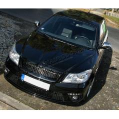 Nerez chrom kryty zrcátek Škoda Octavia II Facelift 09+