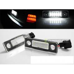 LED osvětlení SPZ - Škoda Octavia 09- / Roomster 06-10 Canbus (PRSK01)