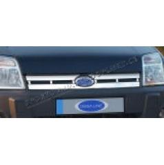 Ford Connect 06+ NEREZ chrom kryt přední masky OMSA