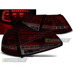 VW Golf 7 2013- zadní lampy red smoke LED GTI Look (LDVWG1)
