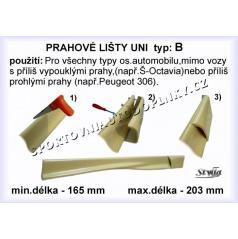 Universální boční prahy B (2 ks)