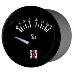 Stack elektronický budík tlak oleje 52 mm ST3201
