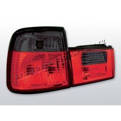 BMW E34 88-95 ZADNÍ LAMPY KRYSTALICKÉ - RED/SMOKE (LTBM57) - sedan