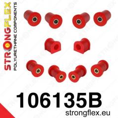 Mazda MX5 1999-05 StrongFlex sestava silentbloků jen pro přední nápravu 10 ks