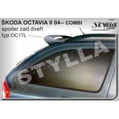 ŠKODA OCTAVIA II combi 04+ spoiler zad. dveří horní (EU homologace)