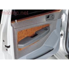Dekor výplně dveří, ABS-dřevěný, Škoda Fabia