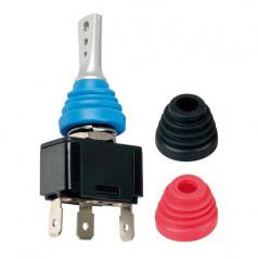 Vypínač s barevnými kryty 12/24V - 20A