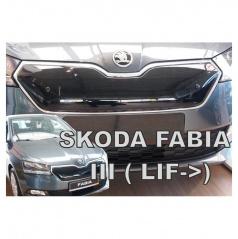 Zimní clona - kryt chladiče horní - Škoda Fabia III, 2018- , po faceliftu