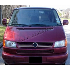 VW Transporter/Caravelle T4 97-03 - NEREZ chrom lišty masky - OMSA LINE