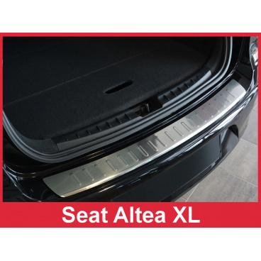 Nerez kryt- ochrana prahu zadního nárazníku Seat Altea XL 2006-16