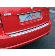 Práh pátých dveří s výstupky, ABS-stříbrný, Škoda Octavia II. Limousine Facelift