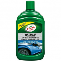 Turtle Wax® Metalický vosk s PTFE tekutým voskem - 500 ml