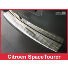 Nerez kryt- ochrana prahu zadného nárazníka Citroen Space Tourer 2016+