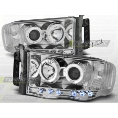 DODGE RAM 2002-06 ANGEL EYES CHROME (LPDO03)