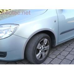 Lemy blatníků, ABS stříbrný matný, Škoda Fabia II Combi