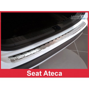 Nerez kryt- ochrana prahu zadního nárazníku Seat Ateca 2015-16